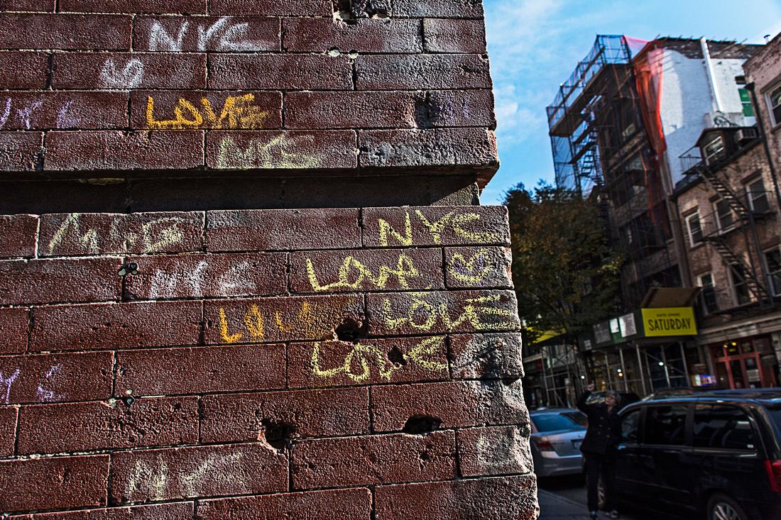 Soho wall of love